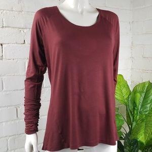 Columbia Scoop Neck Long Sleeved Tshirt Large